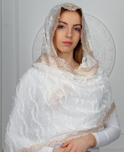 Белый платок в храм