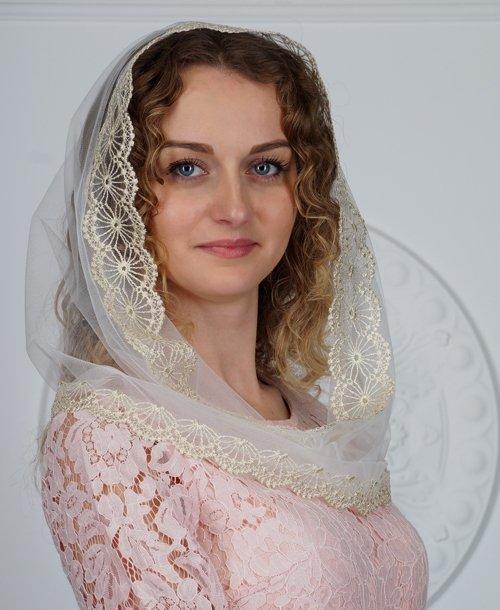 Накидка для венчания