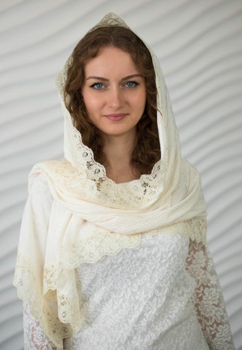 Элегантный шарф для церкви