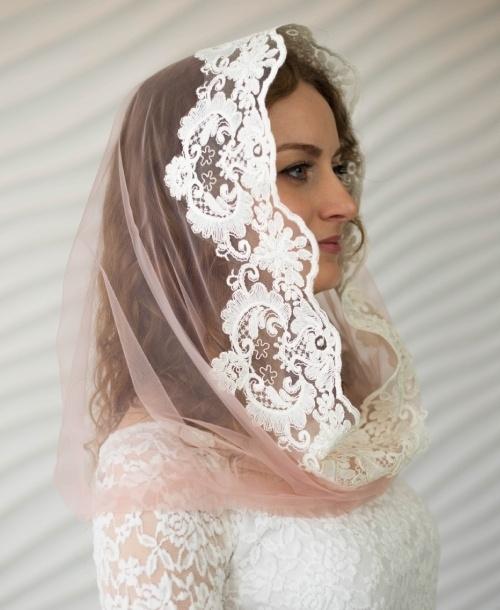 Капор для венчания
